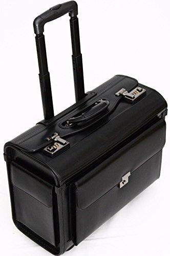 Pilotenkoffer mit Rollen - Business-Trolley für Laptops 16