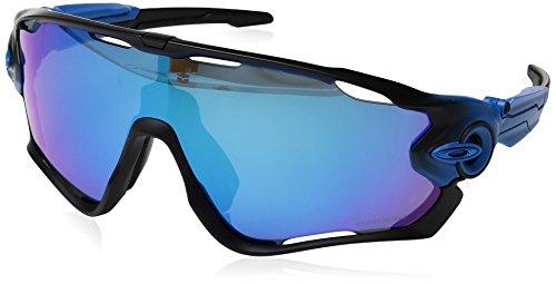 Oakley Herren Jawbreaker 929022 31 Sonnenbrille, Blau (Sapphire Fade/Prizmsapphirepolarized),