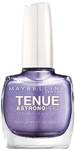 Maybelline New York Tenue & Strong Pro Vernis à Ongles 645 Viva Blue Violet
