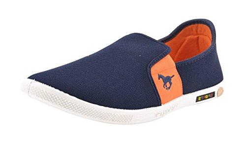 Chevit Men's Casual 383 Blue Shoes (Sneakers Shoes)