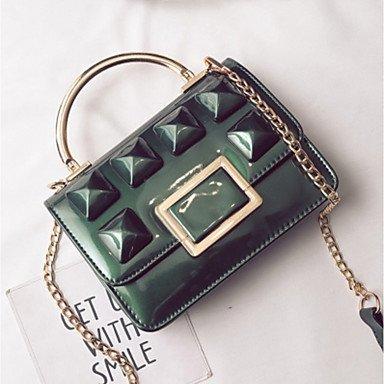 Frauen Handtasche Schöne CasualShoulder Tasche Dark Green
