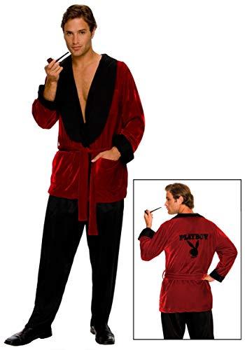 Kostüm Hefner - Rubies 3 889295 std - Kostüm Playboy Hugh Hefner Größe STD