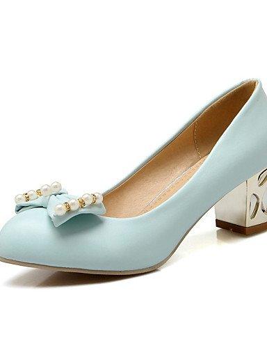 WSS 2016 Chaussures Femme-Mariage / Bureau & Travail / Habillé / Décontracté / Soirée & Evénement-Bleu / Rose / Blanc-Gros Talon-Talons-Talons- pink-us9 / eu40 / uk7 / cn41