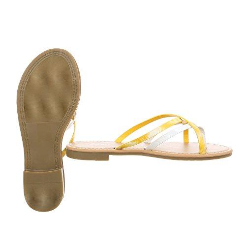 Sandali Giallo Ital Blocco Havaianas 12 Infradito Da Fitflop Scarpe Donna Pm907 design Bianco 5RqawRSOzU