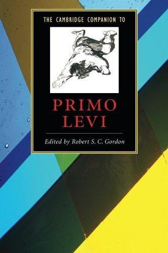 The Cambridge Companion to Primo Levi (Cambridge Companions to Literature) by Robert S. C. Gordon (2007-08-02)