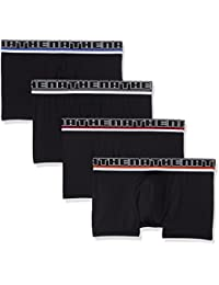 Athena Black, Boxer Homme, (lot de 4)
