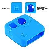 Swallowuk Silikon Gehäuse Schutzhülle Kamera Case Cover für GoPro Fusion (Blau)