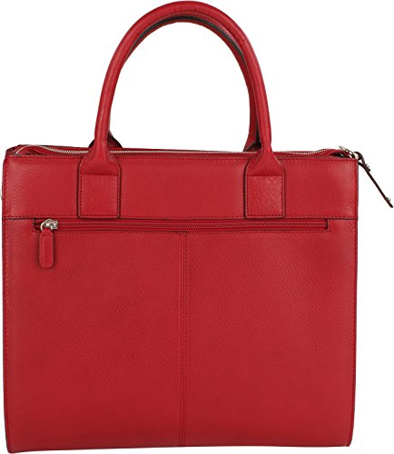 Picard Ohio Sac à main cuir 35 cm Rouge