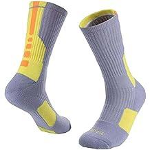 Calcetines de baloncesto suave transpirable para los niños un par