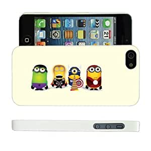COVER FOR APPLE IPHONE 5 & 5S MINIONS MARVEL DC AVENGERS CASE & SCREEN PROTECTOR - WH-T555