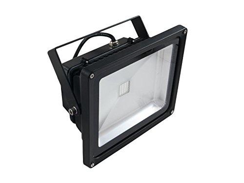 Eurolite LED IP FL-30 COB UV | Wetterfester (IP54) UV-Scheinwerfer mit 30-Watt-COB-UV-LED | High-Power UV Schwarzlicht Beleuchtung | Vielseitige...