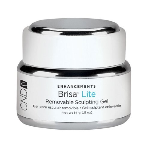 CND Brisa Lite - Removable Sculpting Gel - Neutral Pink Semi-Sheer - 0.5oz / 14g