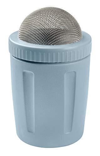 Zenker Puderzucker-und Kakaostreuer, Kunststoff, Ice blue, 7.5 x 6.5 x 12.5 cm