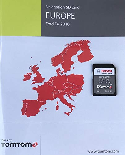 FORD FX NAVI SD Card MAP Europe 2018