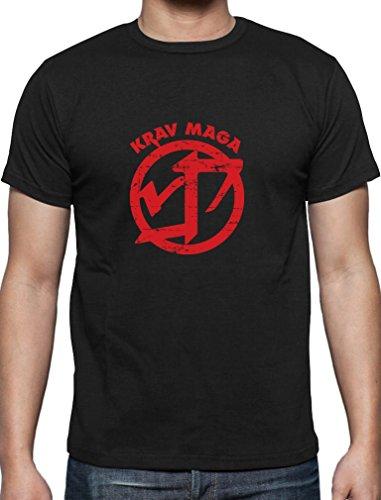 Krav Maga - Geschenk im coolen Design T-Shirt Schwarz