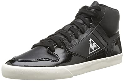 Le Coq Sportif Peletier Glam M, Baskets mode mixte adulte - Noir (Black), 40 EU