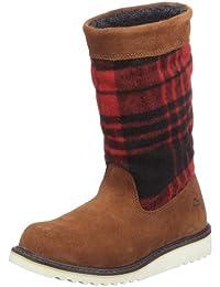 Wolverine ASHLEY - BROWN SUEDE W00376 Damen Fashion Stiefel