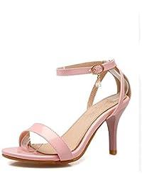 fadacai Sandalen Frauen Öffnen Sie Zehen fein mit Schuhe mit hohen Absätzen Prinzessin Schuhe