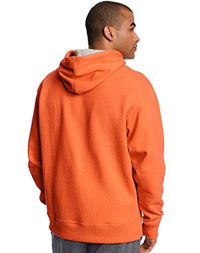 Champion Men's Powerblend Fleece Pullover Hoodie Oxford Grey