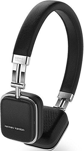 Harman Kardon Soho Wireless On-Ear Mini Kopfhörer (NFC, Bluetooth, faltbarer, tragbarer, geeignet für Apple iOS/Android Smartphones/Tablets/MP3 Geräten) schwarz - 2