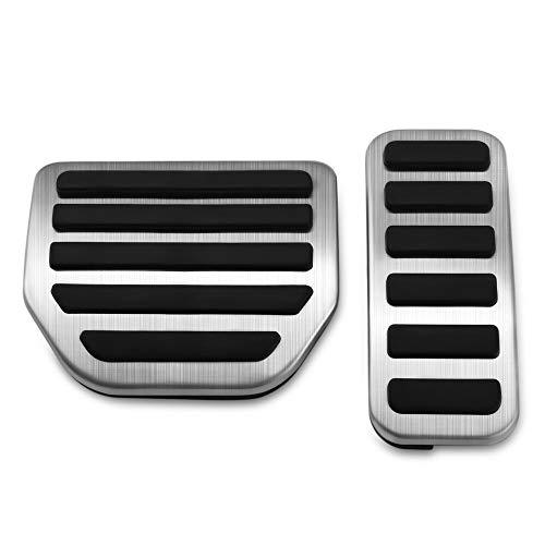 HCDSQSN Edelstahl Gas Kraftstoff Bremspedal Pad Abdeckung Für Land Rover Range Rover Sport 2004-2017 Zubehör Car Styling (Zubehör-2004 Range Rover)