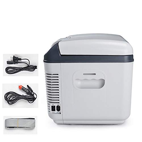 GUANHONG Refrigerador del automóvil Mini refrigerador semiconductor Auto de Doble Uso 12L...