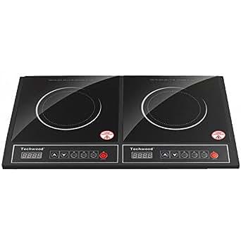 Techwood Plaque de cuisson induction 2 feux 1900W (X2) Techwood - Ref. TPI-252