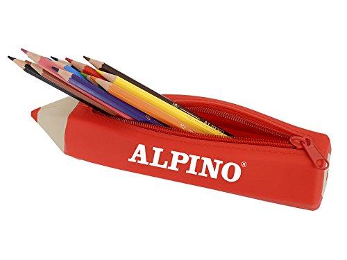 Alpino UA000152 – Portatodo con 12 lápices