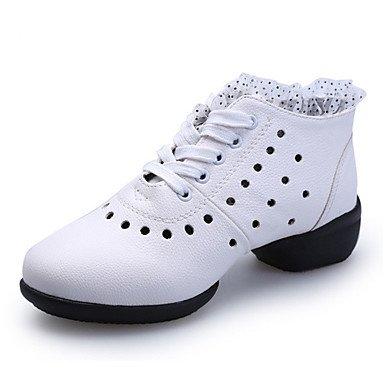 Scarpe da ballo-Non personalizzabile-Da donna-Balli latino-americani Jazz Sneakers da danza moderna Tip tap Danza moderna Salsa Scarpe da Red