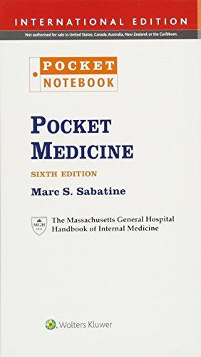 Pocket Medicine. International Edition (Pocket Notebook Series): The Massachusetts General Hospital Handbook of Internal Medicine