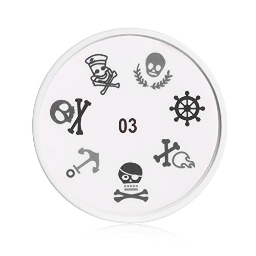 Apharsec Nail Stamp Complete All in One A03 Design