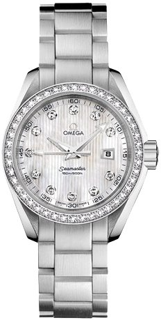 Omega Aqua Terra Ladies Watch 231.15.30.61.55.001