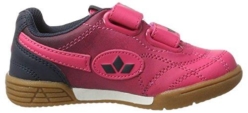 Lico Bernie V, Scarpe da Pallamano Bambina Rosa (Pink/marine)