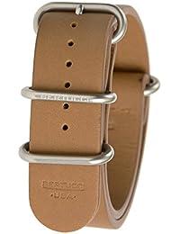 Bertucci b-203nl–E-Type G-10británico marrón piel de vacuno 22mm banda de reloj