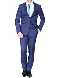 Leader Mode - Costume Zc16-143 Ab - 3 Pieces 22 Dark Blue