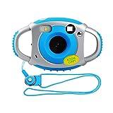 Miavogo Kinderkamera Kamera für Kinder 5 Megapixel 1,77 Zoll LCD, Blau (Generation 2.)