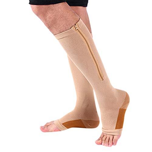 Preisvergleich Produktbild SHINEHUA Kompressionssocken Fußgelenk Bandage Kompressionsstrümpfe für Männer & Frauen Fersensporn Bandage Fußbandage Schmerzlinderung bei Plantarfasziitis Knöchelschmerzen und Schwellungen