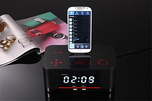 Bzng Reloj de la Mesilla de Alarma Bluetooth Estéreo ...