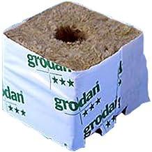 Cultura bloque lana de piedra (75mm x 75mm)