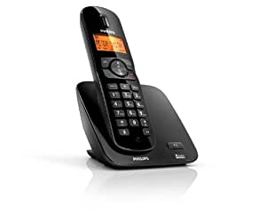 Philips CD1701B/38 Téléphone sans fil DECT Noir