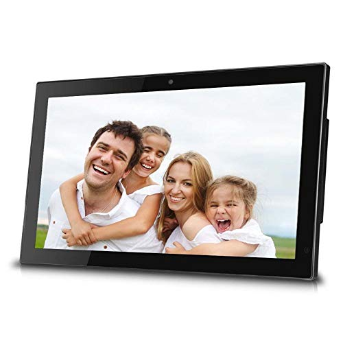 SPFDPF Digitaler Bilderrahmen 27 Zoll IPS elektronisches Fotoalbum Ausgeglichenes Glas-1080P Werbung Machine Support Hdmi Schwarz Weiß