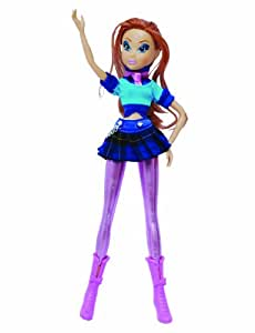 Smoby - 5457689 - WINX CLUB Believix Concert Guitare MUSA + DVD Poupée 29 cm-Bloom
