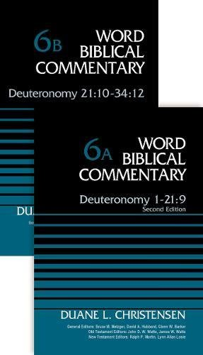 6A-B: Deuteronomy (2-Volume Set---6A and 6B) (Word Biblical Commentary)