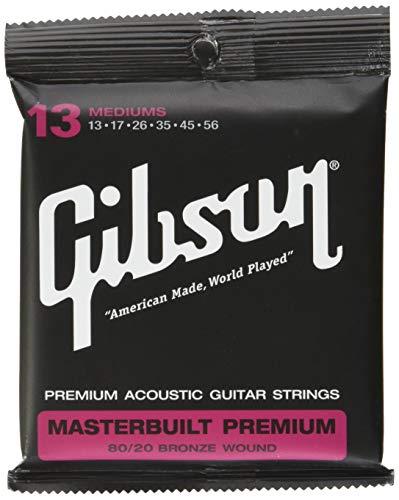 Gibson Masterbuilt Premium Akustik Gitarren Saiten 013-056