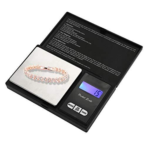 Chengxin Básculas de Cocina Diamante portátil Joyas de Oro Escala Escala de balanza electrónica de Alta precisión Básculas de Cocina