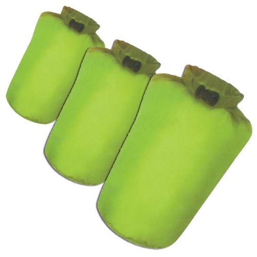 41LX4U8%2BrwL - BEST BUY #1 Milestone Camping Dry Sacks (Packof 3) - Green Reviews and price compare uk