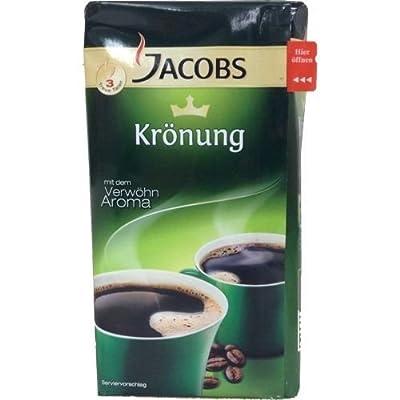 Jacobs Krönung Genuine German ground Coffee 500g (pack of 2)