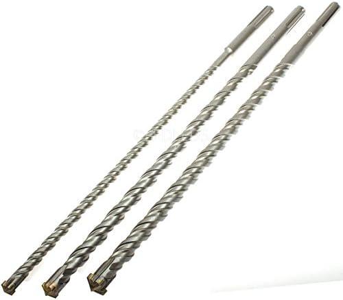Set di 3 punte da trapano trapano trapano SDS Max martello 60 cm 600mm 3 pezzi 16 20 26 BGS | Prezzo Ragionevole  | Garanzia autentica  | Qualità  750375