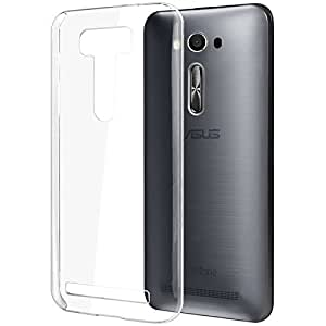 Asus Zenfone 2 Laser 5.5 inches ZEK550KL Cover Case Made By Tapfond: Top Line Quality, Ultra Durable & Heavy Duty Clear Glass Case – Transparent, Ultra Slim, Deluxe Protective Armor