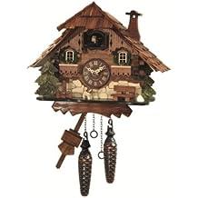 Reloj cucú de cuarzo Casa de la selva negra EN 414 Q